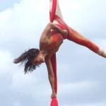 Ruth Salama - telas aéreas - acrobacia aérea